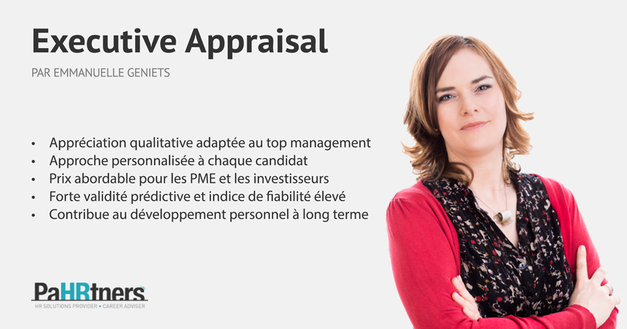 Emmanuelle Geniets - Executive Appraisal